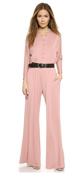 Rachel Pally Russo jumpsuit in lotus - Exclusive to Shopbop. Soft jersey composes this fluid,...