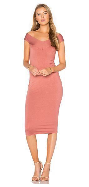 Rachel Pally Sammie Dress in adobe - 92% modal 8% spandex. Dry clean recommended. Unlined....