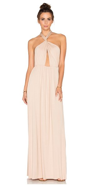 "Rachel Pally x REVOLVE Kateri Dress in beige - ""92% modal 8% spandex. Dry clean recommended. Unlined...."