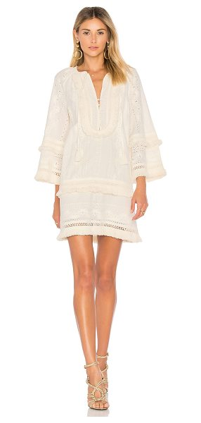 Rachel Zoe Abigail Dress in cream - 100% cotton. Dry clean only. Fully lined. Front button...