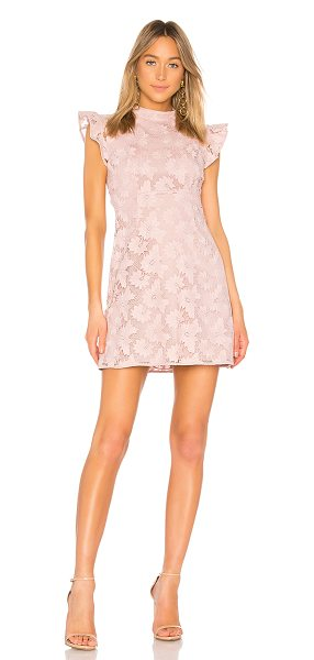 Rachel Zoe Alaya Dress in rose - Self & Lining: 100% poly. Dry clean only. Fully lined....