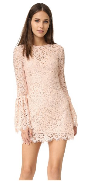 Rachel Zoe bell sleeve dress in blush - Exclusive to Shopbop. A formfitting Rachel Zoe mini...