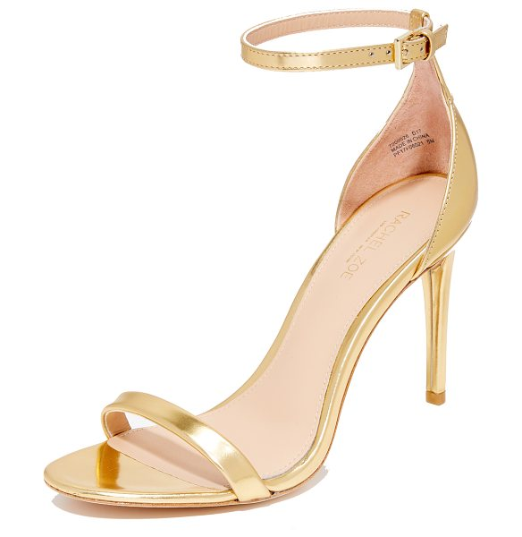 Rachel Zoe ema sandals in gold - Metallic leather Rachel Zoe sandals in a refined,...