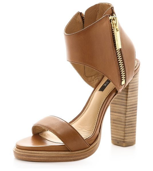 Rachel Zoe Jamie cuffed sandals in tan