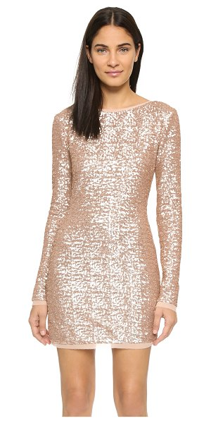 Rachel Zoe Sequin mini dress in rose gold - Exclusive to Shopbop. A contoured Rachel Zoe mini dress,...