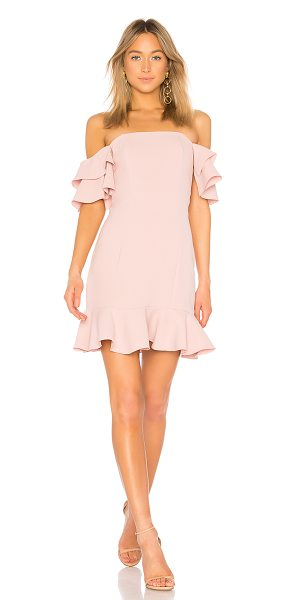 "Rachel Zoe Tracy Dress in rose - ""Self: 51% poly 49% acetateLining: 80% nylon 20%..."