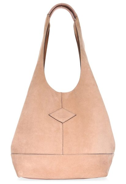 Rag & Bone 18my camden suede shopper in nude suede - From the 18MY Collection. Spacious suede shopper with...