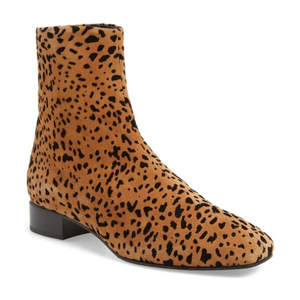 Rag & Bone aslen boot in tan cheetah suede - On-trend and always essential, this easy-to-wear boot...