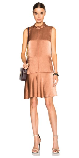 Rag & Bone Audrey dress in metallics - 100% viscose.  Made in USA.  Unlined.  Hidden side zip...
