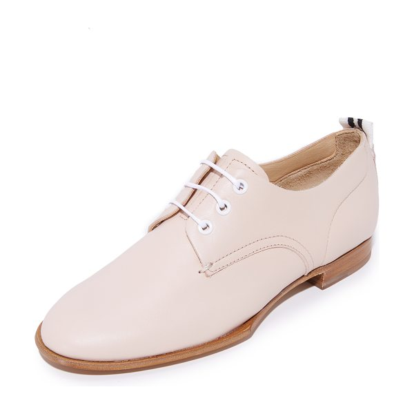 RAG & BONE audrey oxfords - These slim Rag & Bone oxford shoes are crafted from...