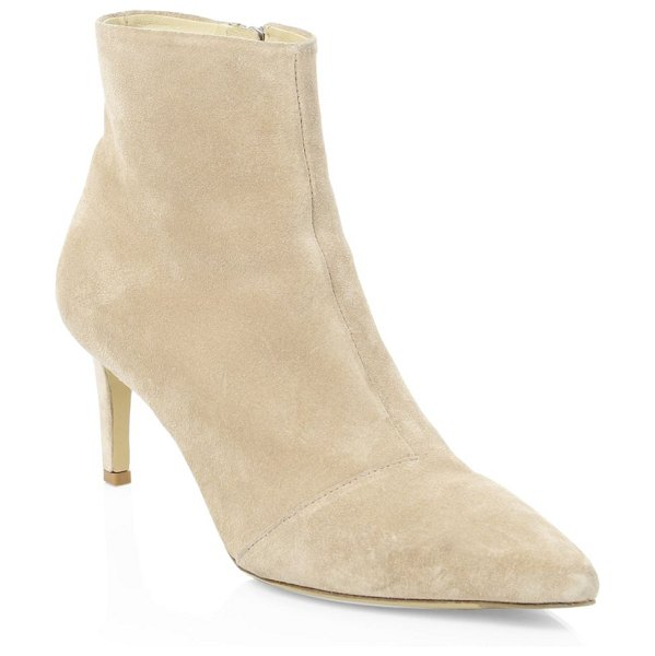 Rag & Bone beha suede ankle boots in nude