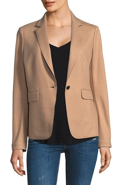 Rag & Bone club wool jacket in camel - Wool club jacket for a casual or formal attire. Notch...