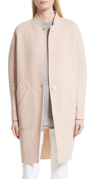 RAG & BONE darwen reversible wool & cashmere coat - Brushed, double-faced construction allows this oversized...