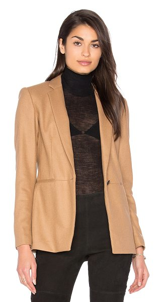 Rag & Bone Emmet Blazer in tan - Androgynous and menswear-inspired is how we like our...