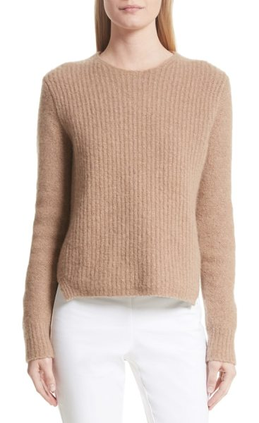 Rag & Bone francie merino wool blend sweater in camel