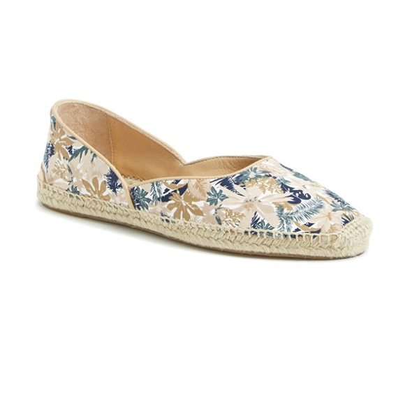 Rag & Bone georgie espadrille flat in botanical - Braided jute lends an earthy vibe to a boho-chic...
