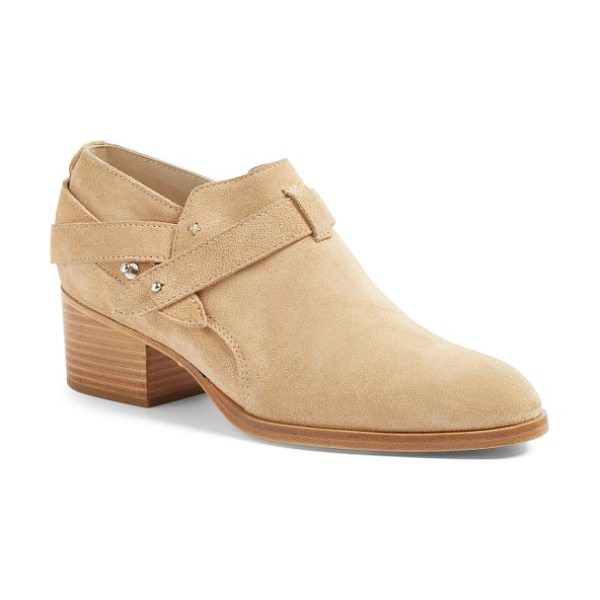 Rag & Bone harley bootie in dune suede - Keep your street style clean and classic with an...
