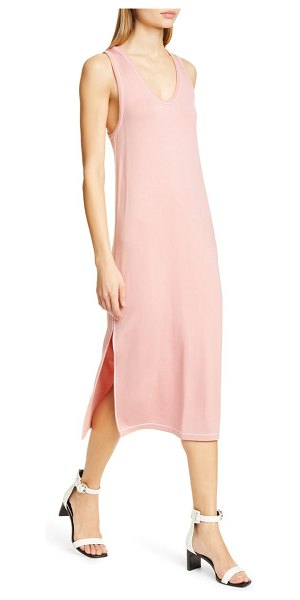 Rag & Bone marlon tank dress in pink - Chic and easy, this lightweight tank dress is styled...