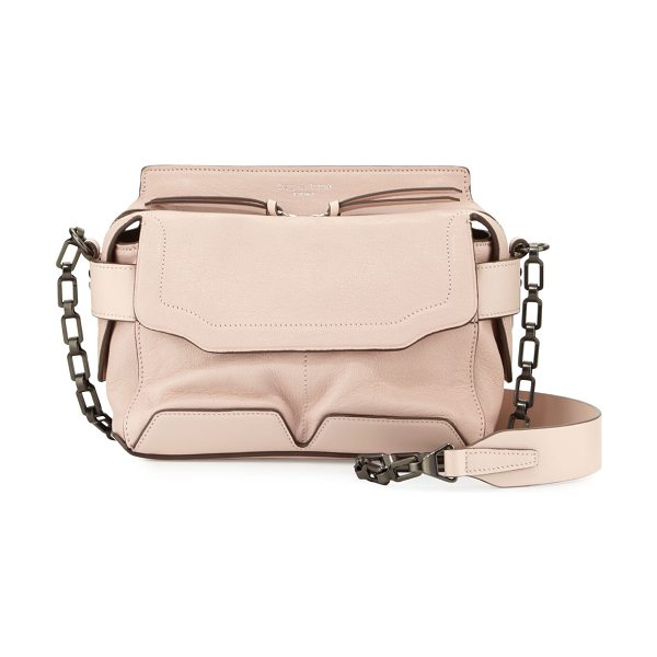 Rag & Bone Pilot Micro Leather Satchel Bag in pink