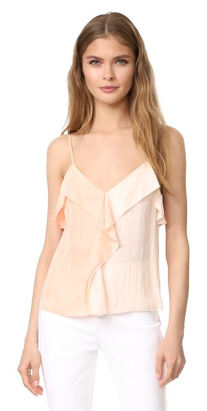 Rag & Bone posta top in bright peach - A delicate Rag & Bone camisole with 2-tone panels....