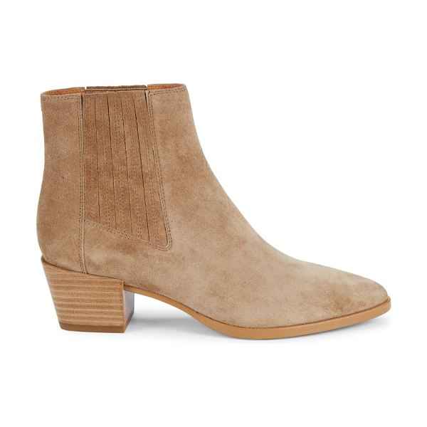 Rag & Bone rover suede ankle boots in camel