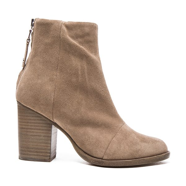 RAG & BONE Suede Ashby Booties - Suede upper with leather sole. Made in Italy. Approx...