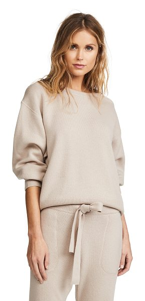 RAG & BONE sutton cashmere sweater - Fabric: Knit Solid-color design Pullover style...