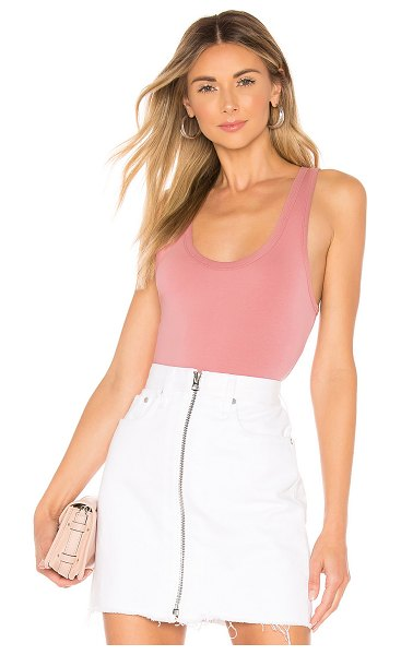 Rag & Bone the tank bodysuit in plerose