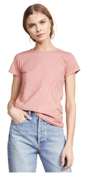Rag & Bone the tee in pale rose
