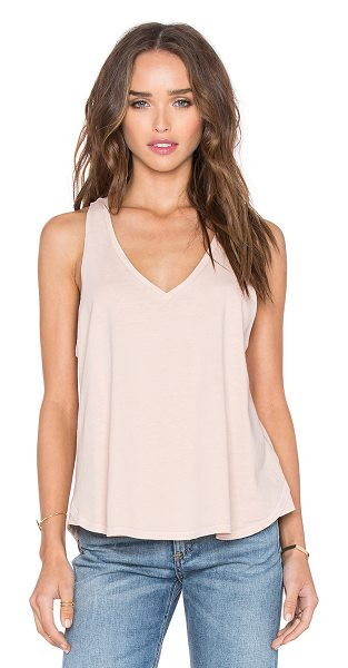 RAG & BONE Audrey v neck tank - 100% cotton. RAGA-WS260. W262C17JD. Rag & Bone was born...