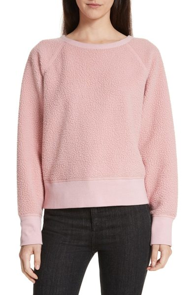RAG & BONE fleece pullover - Soft and lofty high-pile fleece makes the perfect...