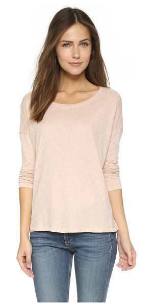 RAG & BONE Long sleeve tee - Dropped shoulder seams accentuate the relaxed fit of...