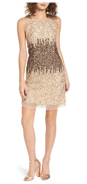 Raga sequins and champagne dress in beige - Say cheers in this champagne-colored dress drenched in...