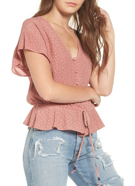 RAILS bretton button down top - Drapey and ruffled to pair with your favorite...