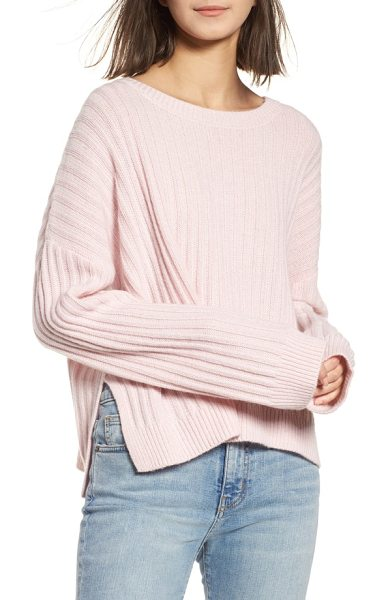 RAILS joelle rib wool & cashmere sweater - A bit of cashmere gives the wool in this oversized sweater...