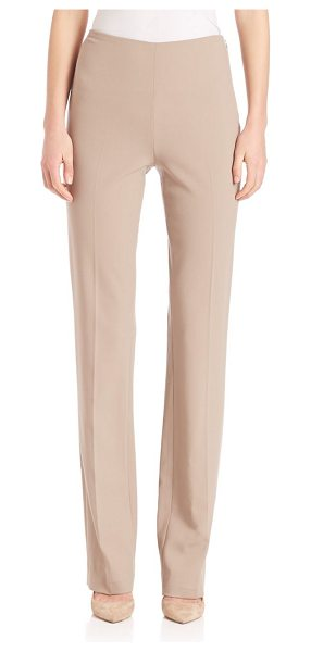 Ralph Lauren Collection alandra tailored pants in truffle - Clean, sophisticated trousers with a flattering fit....
