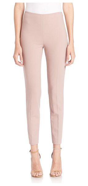 Ralph Lauren Collection Annie slim pants in truffle - Clean, sophisticated trousers with a flattering fit....