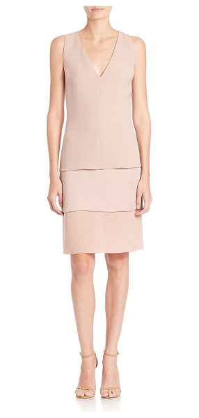 RALPH LAUREN COLLECTION belinda silk dress - Airy, layered silk in a timeless, easy...