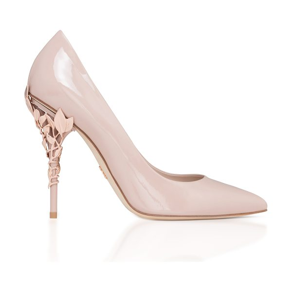 RALPH & RUSSO Eden Patent Pump - This *Ralph & Russo* pump is rendered in patent leather...