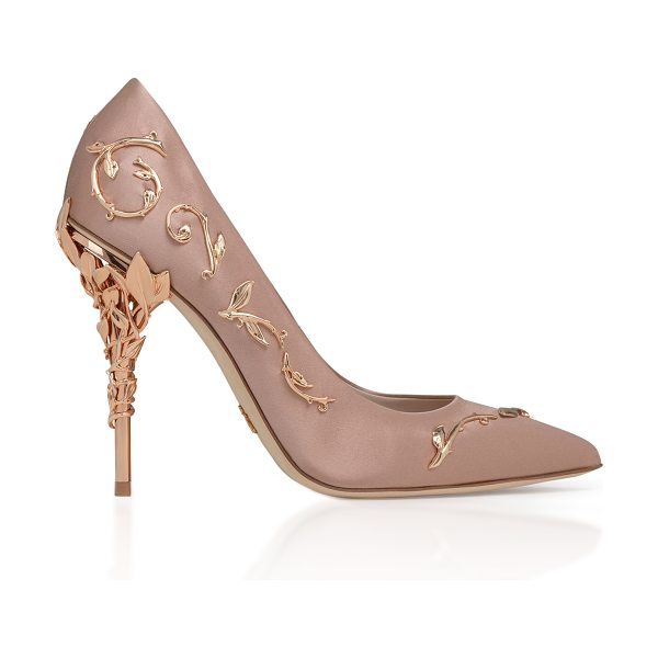 Ralph & Russo Eden Satin Pump in pink - This *Ralph & Russo* pump is rendered in silk and...