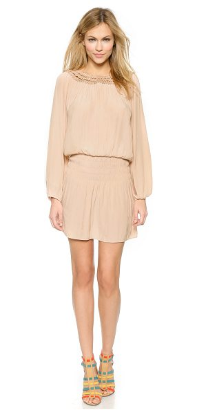 Ramy Brook Chloe dress in blush