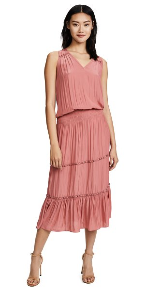 Ramy Brook eden dress in burnt pink - This Ramy Brook maxi dress has a blouson bodice and...