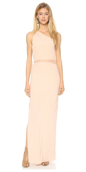 Ramy Brook Florence one shoulder gown in blush - Exclusive to Shopbop. A Grecian inspired Ramy Brook gown...