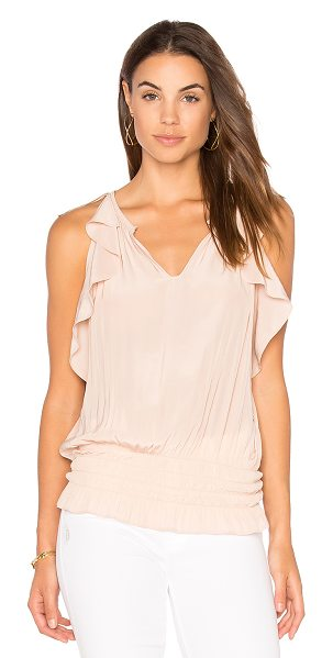 Ramy Brook Jordyn Tank in blush - Viscose blend. Dry clean only. Elasticized waist....