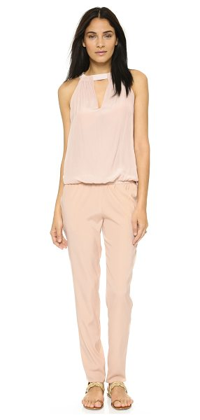 Ramy Brook Meril jumpsuit in blush