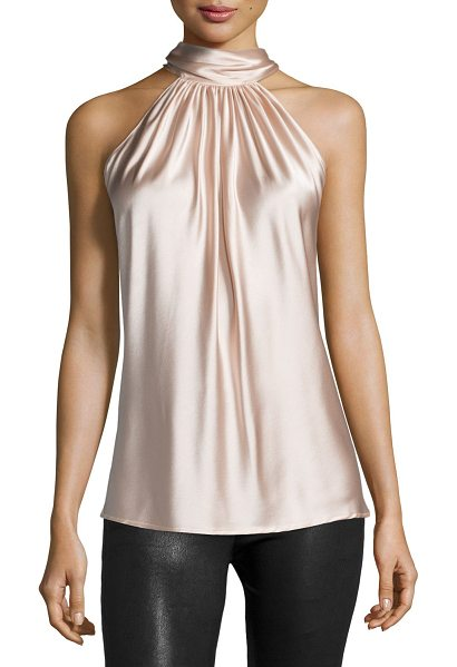 "RAMY BROOK Paige Halter-Neck Top - Ramy Brook ""Paige"" woven top. Approx. length: 28""L from..."