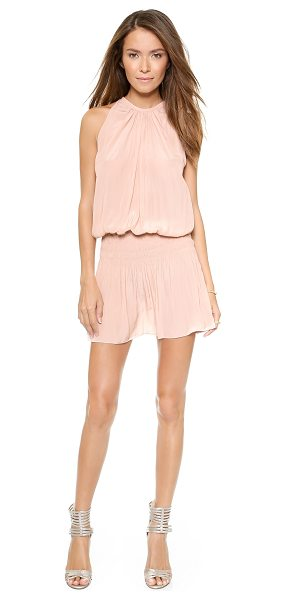 RAMY BROOK paris sleeveless dress - Smocked elastic cinches the billowing silhouette of this...