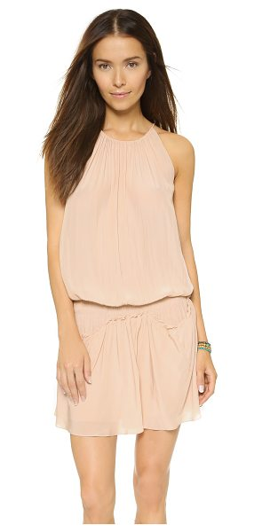 Ramy Brook Serena dress in blush - A flared, feminine Ramy Brook mini dress with delicate,...
