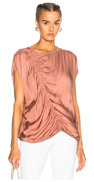 RAQUEL ALLEGRA Gathered Boxy Top - Raquel Allegra gained instant popularity for her...