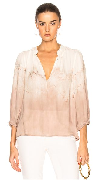 Raquel Allegra Peasant Blouse in neutrals,ombre & tie dye - Raquel Allegra gained instant popularity for her...